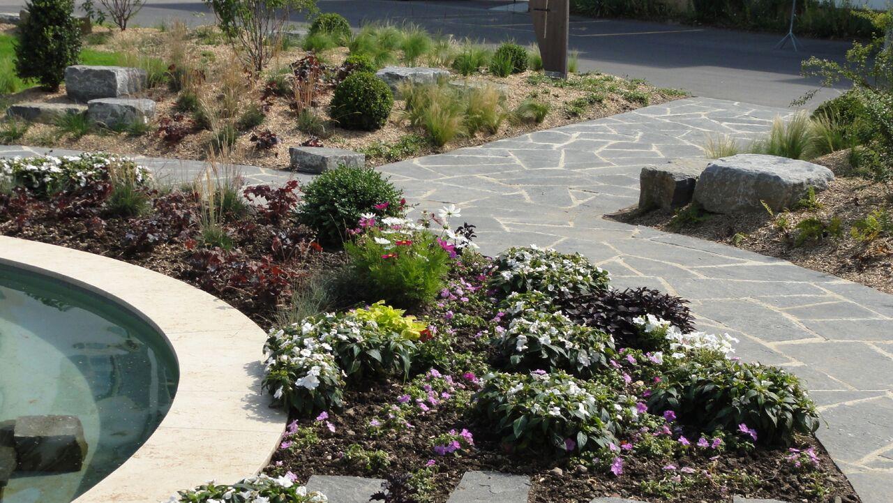 J n jardins naturels cr ation de jardin lausanne for Agence j paysagiste