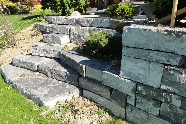 escalier de jardin classy escalier de jardin pas cher lie escalier en pierre exterieur escalier. Black Bedroom Furniture Sets. Home Design Ideas